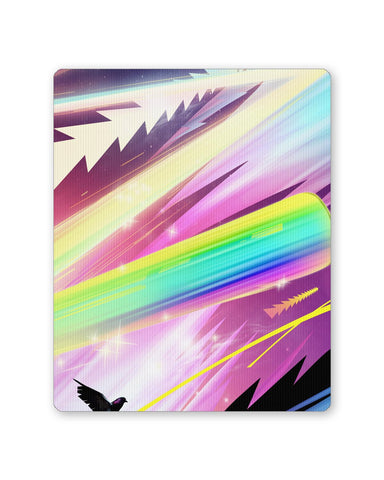 Buy Mousepads Online India | Rainbow Rider Abstract Mouse Pad Online India