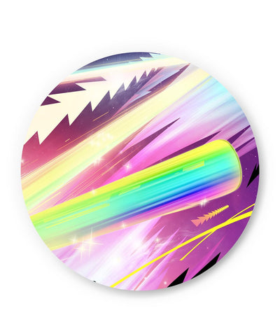 PosterGuy | Rainbow Rider Abstract Fridge Magnet Online India by Hitesh Sharma