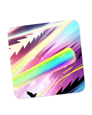Buy Coasters Online | Rainbow Rider Abstract Coaster Online India | PosterGuy.in