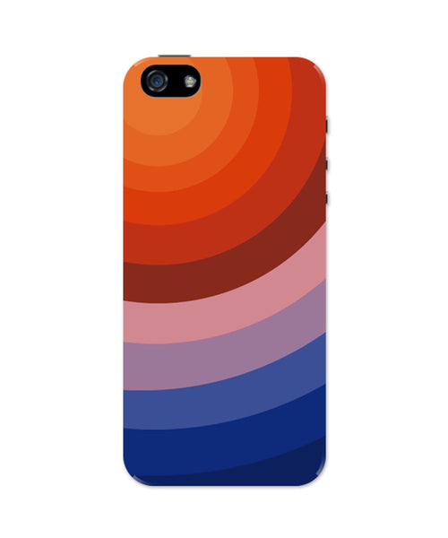 iPhone 5 / 5S Cases & Covers | The Illusional Circles Abstract iPhone 5 / 5S Case Online India