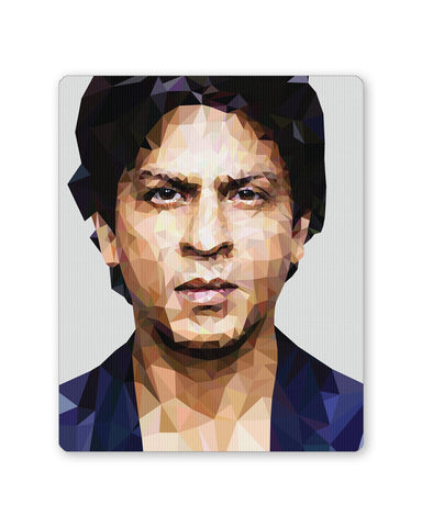 Buy Mousepads Online India | Shahrukh Khan Low Poly Art Mouse Pad Online India