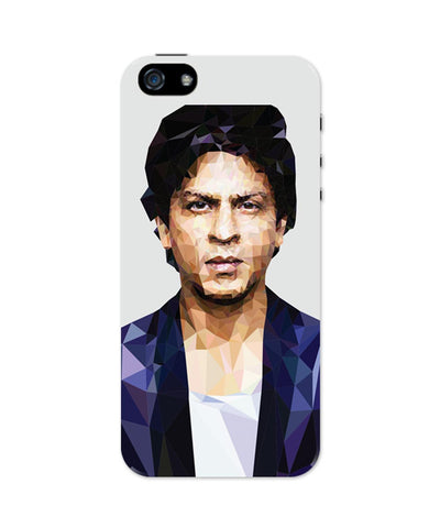 iPhone 5 / 5S Cases & Covers | Shahrukh Khan Low Poly Art iPhone 5 / 5S Case Online India