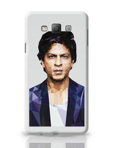 Samsung Galaxy A7 Covers | Sharukh Khan Low Poly Art Samsung Galaxy A7 Covers Online India