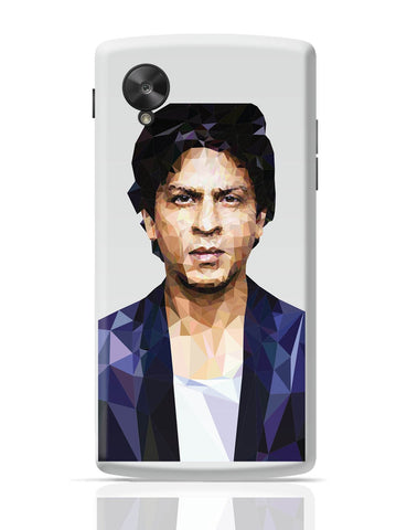 Google Nexus 5 Covers | Sharukh Khan Low Poly Art Google Nexus 5 Cover Online India