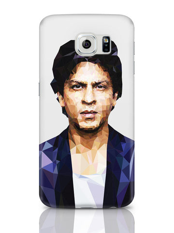Samsung Galaxy S6 Covers & Cases | Sharukh Khan Low Poly Art Samsung Galaxy S6 Covers & Cases Online India