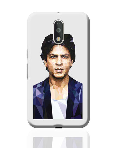 Sharukh Khan Low Poly Art Moto G4 Plus Online India