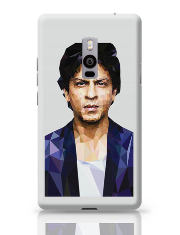 OnePlus Two Covers | Sharukh Khan Low Poly Art OnePlus Two Cover Online India
