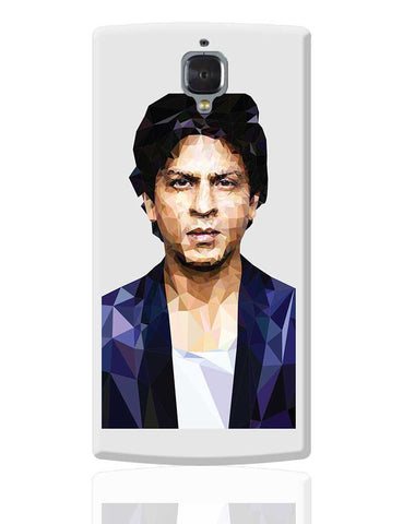 Sharukh Khan Low Poly Art OnePlus 3 Cover Online India