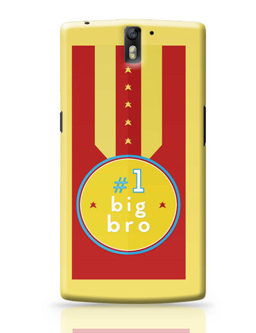OnePlus One Covers | No. 1 Big Bro OnePlus One Cover Online India