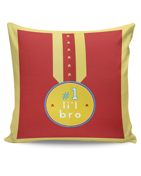 PosterGuy | No. 1 Little Bro Cushion Cover Online India