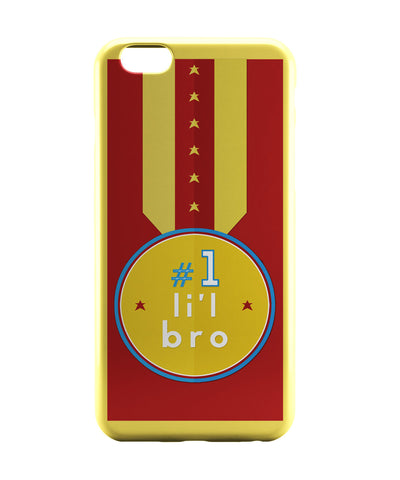 iPhone 6 Case & iPhone 6S Case | No. 1 Little Bro iPhone 6 | iPhone 6S Case Online India | PosterGuy