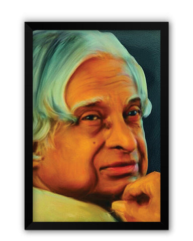 Framed Posters | APJ Abdul Kalam Sir Laminated Framed Poster Online India