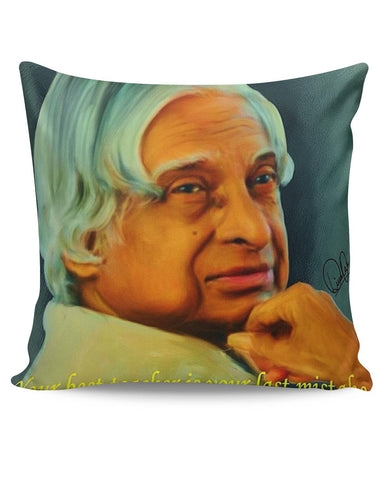 PosterGuy | APJ Abdul Kalam Sir Cushion Cover Online India