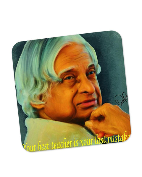 Buy Coasters Online | APJ Abdul Kalam Sir Coaster Online India | PosterGuy.in