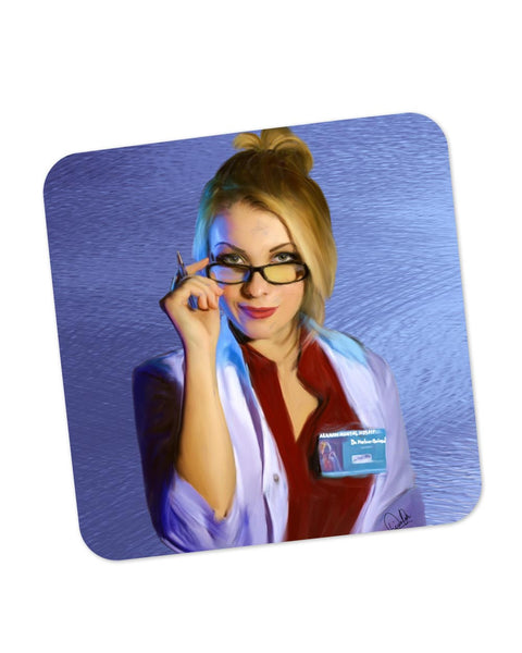 Buy Coasters Online | Dr Harleen(Harley Quinn) Quinzd Coaster Online India | PosterGuy.in