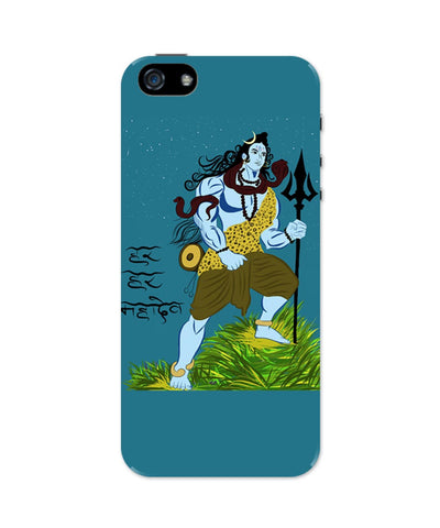 iPhone 5 / 5S Cases & Covers | Har Har Mahadev Lord Shiva iPhone 5 / 5S Case Online India