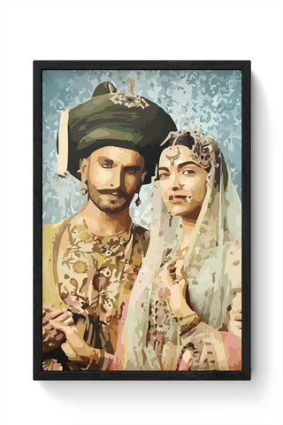 Framed Posters Online India | Bajirao Mastani Laminated Framed Poster Online India