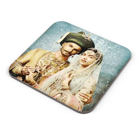 Buy Coasters Online | Bajirao Mastani Coaster Online India | PosterGuy.in