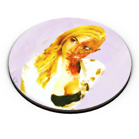 PosterGuy | Female Two Face Fridge Magnet Online India by Divakar Singh
