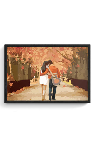 Framed Posters Online India | Romance Laminated Framed Poster Online India