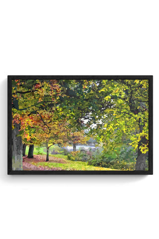 Framed Posters Online India | Forest Laminated Framed Poster Online India