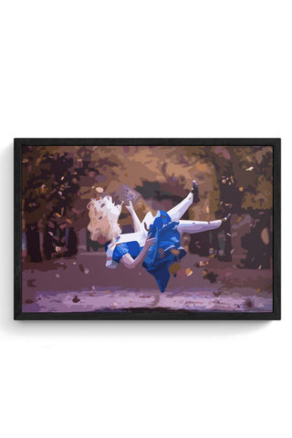 Framed Posters Online India | Alice Laminated Framed Poster Online India