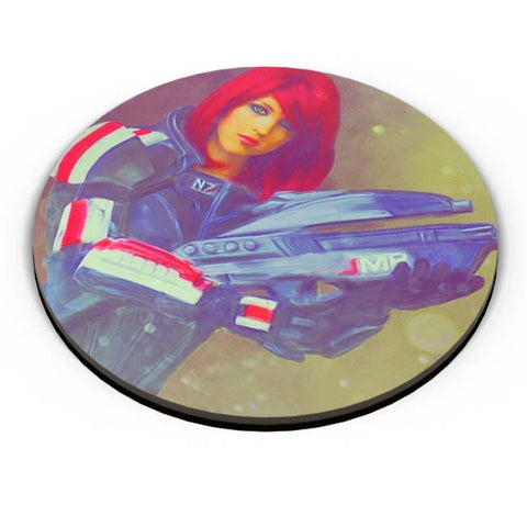PosterGuy | Female Shepard Fridge Magnet Online India by Divakar Singh