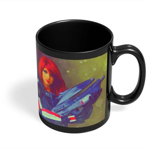 Coffee Mugs Online | Female Shepard Black Coffee Mug Online India
