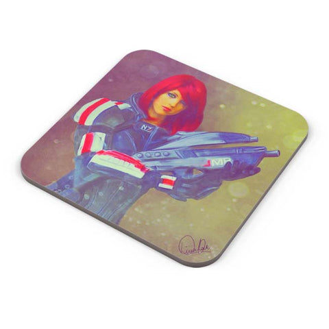 Buy Coasters Online | Female Shepard Coaster Online India | PosterGuy.in