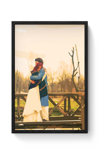 Framed Posters Online India | Fitoor Laminated Framed Poster Online India