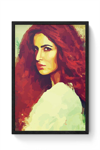 Framed Posters Online India | Katrina Kaif Laminated Framed Poster Online India