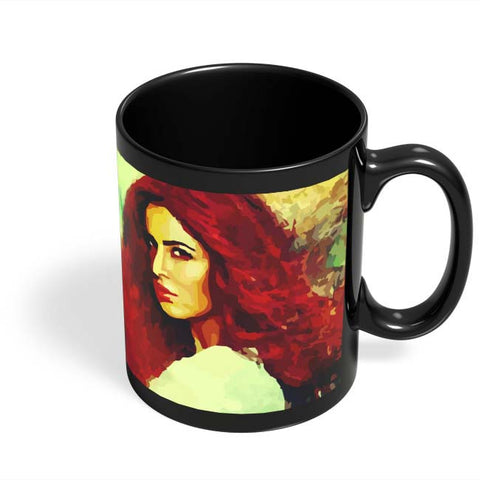 Coffee Mugs Online | Katrina Kaif Black Coffee Mug Online India
