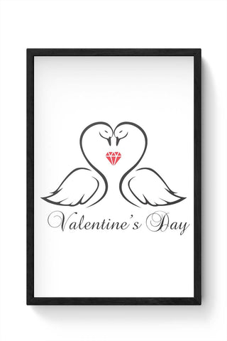 Framed Posters Online India | Valentine'S Day Framed Poster Online India