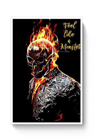 Posters Online | Ghost Rider Poster Online India | Designed by: Divakar Singh