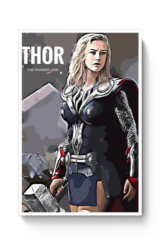 Posters Online | Thor Poster Online India | Designed by: Divakar Singh
