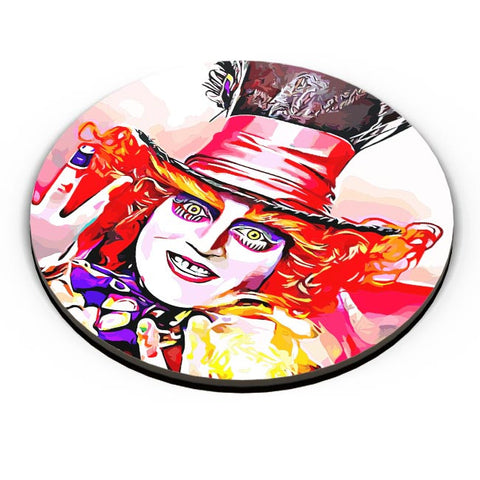 PosterGuy | Mad Hatter Fridge Magnet Online India by Divakar Singh
