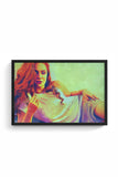 Buy Sophie Turner Glass Framed Poster