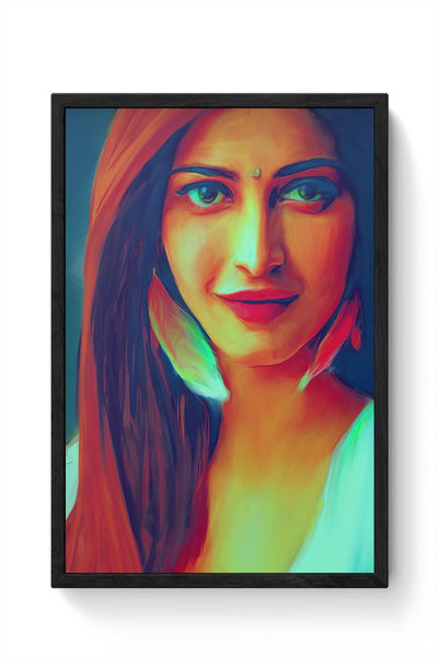 Shruti Hassan Framed Poster Online India