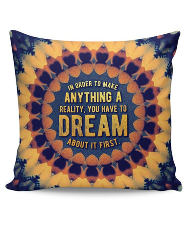 Motivational Quote Cushion Cover Online India