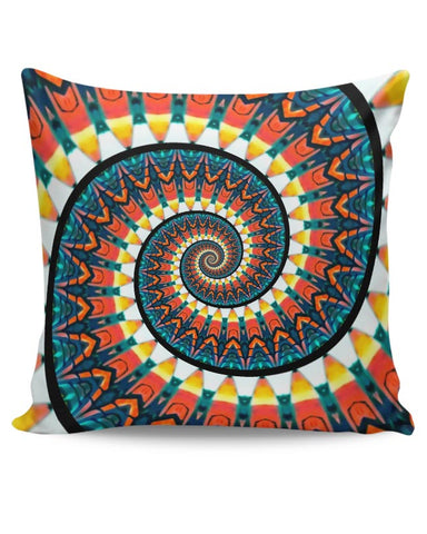 Spiral Print Cushion Cover Online India