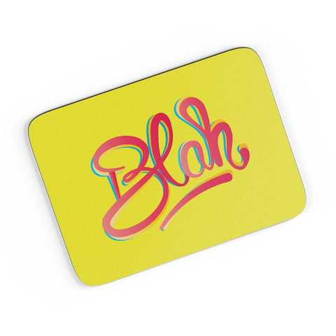 Blah Quirky Typography A4 Mousepad Online India