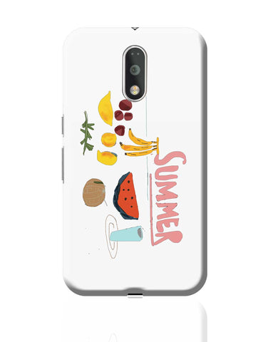 Summer| Fruits Quirky Moto G4 Plus Online India