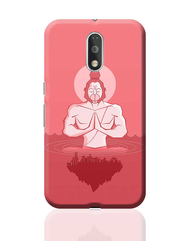 Lord Hanuman Watching Over World Art  Moto G4 Plus Online India