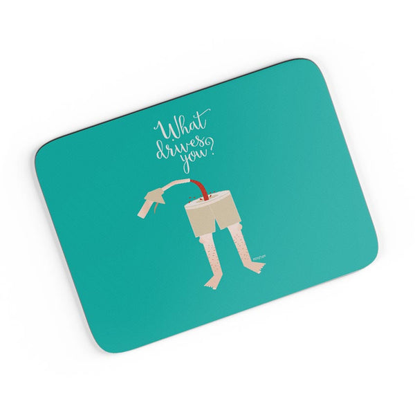 What Drives You? A4 Mousepad Online India
