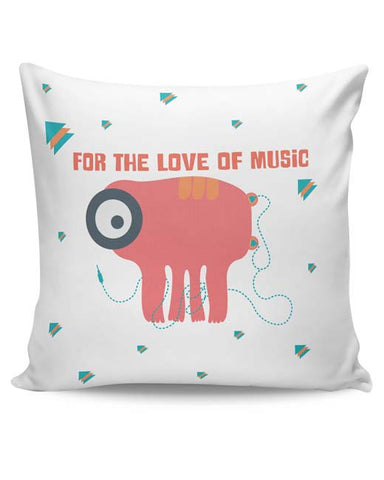 PosterGuy | Music Monster Cushion Cover Online India
