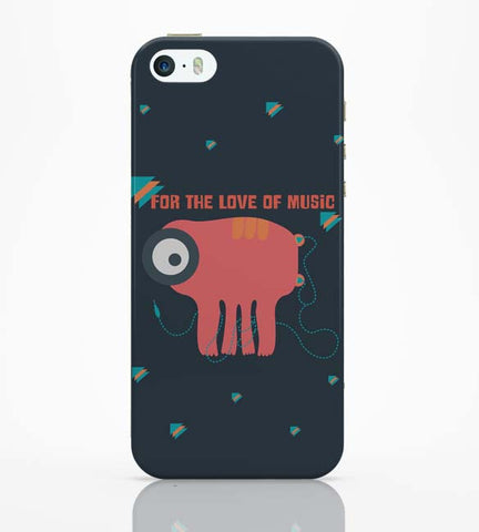 iPhone 5 / 5S Cases & Covers | Music Monster iPhone 5 / 5S Case Online India