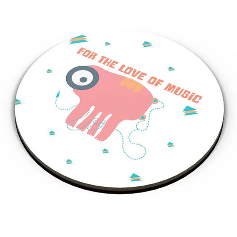 PosterGuy | Music Monster Fridge Magnet Online India by Idigtype