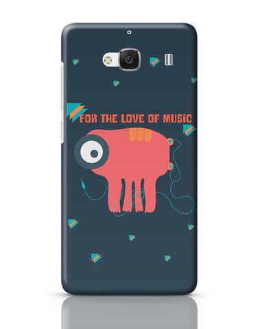 Xiaomi Redmi 2 / Redmi 2 Prime Cover| Music Monster Redmi 2 / Redmi 2 Prime Case Cover Online India