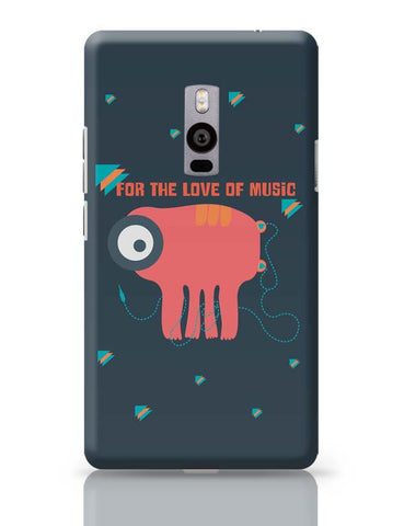 OnePlus Two Covers | Music Monster OnePlus Two Case Cover Online India