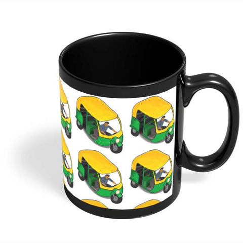 Coffee Mugs Online | Auto Walla Black Coffee Mug Online India
